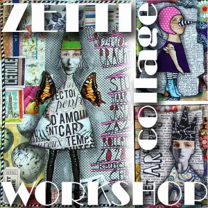 "Live workshop: ""Zetti"" collages maken"