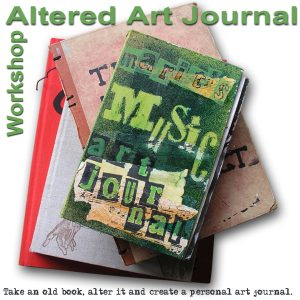 Live workshop: Altered art journal